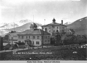 Juneau A-B Hall left 1918